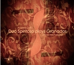 Duo Spiritoso plays Granados - CD