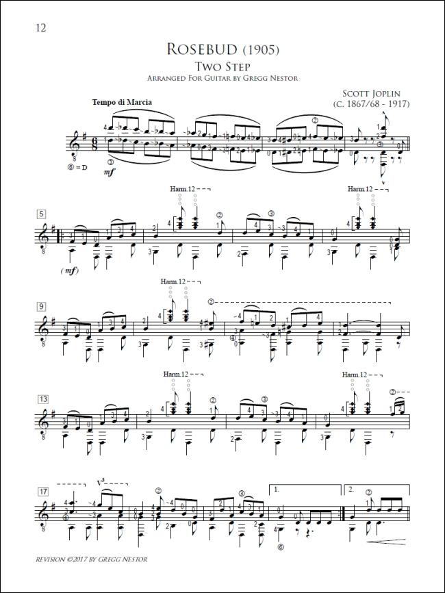 Guitar bach cello suite 1 guitar sheet music : Ragtime Guitar Solos by Scott Joplin