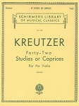 Kreutzer - 42 Studies or Caprices