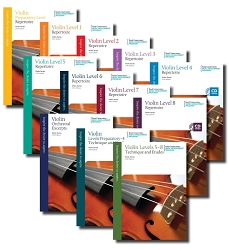 Violin Series, 2013 Edition Conference Set