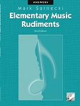 Elementary Music Rudiments, 2nd Edition: Answer Book