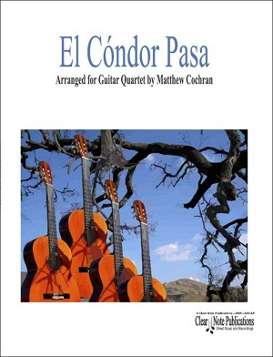 El Condor Pasa for 4 Guitars