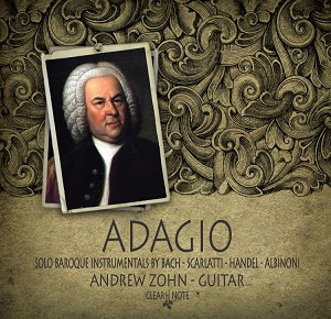 Adagio CD by Andrew Zohn