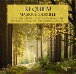 Requiem CD by The Concert Choir of Stetson University