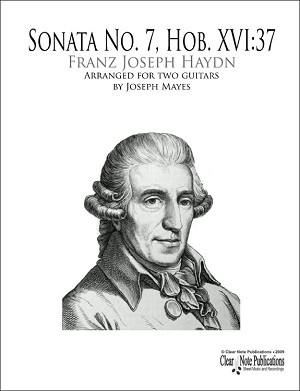 Sonata in D (HOB. XVI:37) Arranged for two guitars by Franz Joseph Haydn