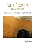 Julia Florida by August�n Barrios Mangor�
