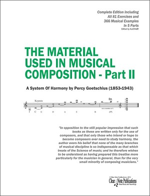 THE MATERIAL USED IN MUSICAL COMPOSITION - Part II