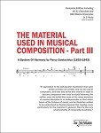 THE MATERIAL USED IN MUSICAL COMPOSITION - Part III