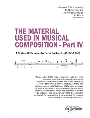 THE MATERIAL USED IN MUSICAL COMPOSITION - Part IV