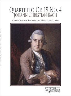 Quartetto Op. 19 No. 4 by Johann Christian Bach