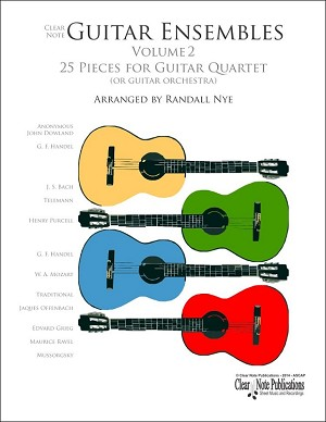 Guitar Quartets Volume 2 by Randall Nye