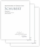 Masterworks of German Lied - Volumes 1-3 Franz Schubert
