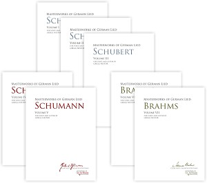 Masterworks of German Lied - Volume 1 - 7 Complete Set