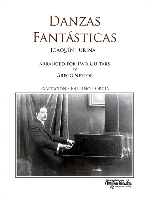 Danzas Fantásticas for two Guitars by Joaquín Turina Includes Audio Download Card