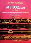 24 Etudes Op. 15 for solo Flute arranged by Louis Moyse