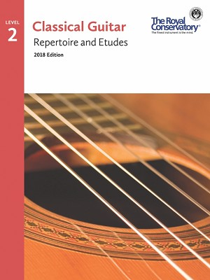 Guitar Repertoire and Etudes 2 - 2018 Edition