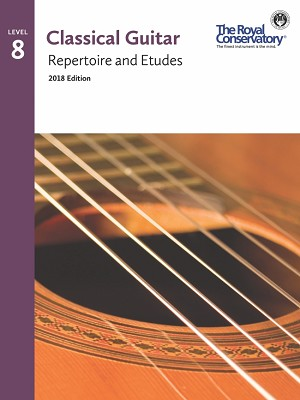 Guitar Repertoire and Etudes 8 - 2018 Edition