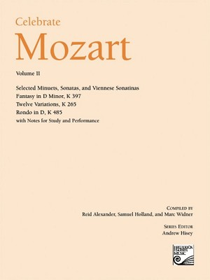 Celebrate Mozart Volume II