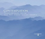 Contemplation CD Thanos Mitsalas Solo Guitar