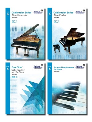 Piano Level 4 Set