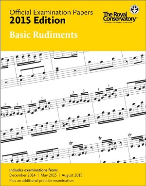 Official Examination Papers 2015 Edition - Basic Rudiments