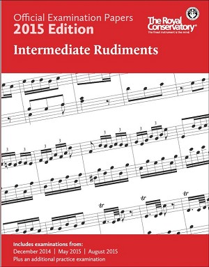 Official Examination Papers 2015 Edition - Intermediate Rudiments