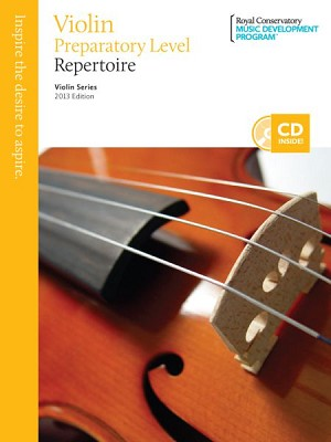 Violin Preparatory Level Repertoire