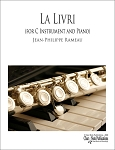 La Livri for Flute or Violin and Piano by Jean-Philippe Rameau
