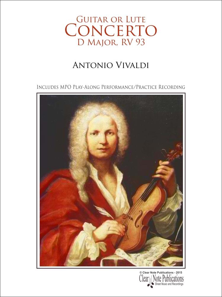Concerto in D Major RV 93 by Antonio Vivaldi Play-Along ...