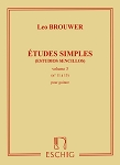 Simple Etudes (Estudios Sencillos) Volume 3