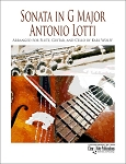 Sonata in G Major for Flute, Guitar & Cello by Antonio Lotti