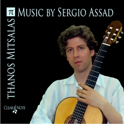 Music of Sergio Assad played by Thanos Mitsalas - CD