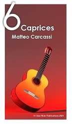 Six Caprices Op. 26 by Carcassi eBook