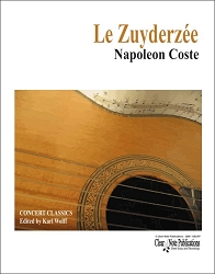 Le Zuyderzée by Napoleon Coste for Solo Guitar