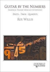 Additional Set of Parts for Guitar by the Numbers - Rex Willis
