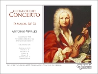 Concerto in D Major RV 93 by Antonio Vivaldi  Score and Parts Performance Edition