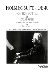 Holberg Suite, Op. 40, by Edvard Grieg