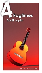 Ragtime Guitar Solos by Scott Joplin eBook