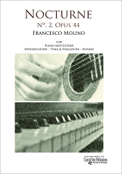 Nocturne No. 2, Opus 44 - for Piano and Guitar by Francesco Molino