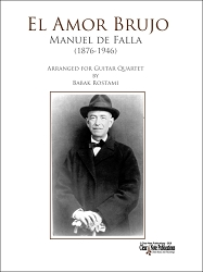 El Amor Brujo for Guitar Quartet by Manuel de Falla