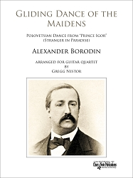 Gliding Dance of the Maidens by Alexander Borodin for Guitar Quartet
