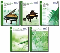 Celebration Series Level 10 Set RCM Piano