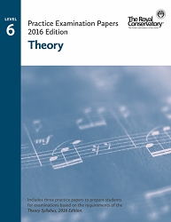 Level 6 Theory Practice Examination Papers - 2016 Edition - Limited inventory