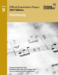 Level 9 Harmony Examination Papers 2017 Edition