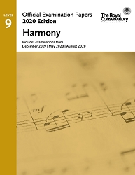 RCM EX2005 2020 Offical Examination Papers: Level 9 Harmony