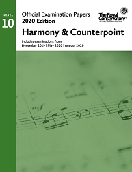 RCM EX2006 2020 Official Examination Papers: Level 10 Harmony & Counterpoint