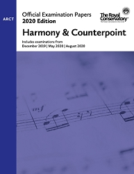 RCM EX2007 2020 Official Examination Papers: Level ARCT Harmony & Counterpoint