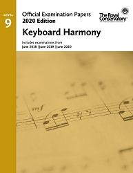 RCM EX2008 2020 Official Examination Papers: Level 9 Keyboard Harmony