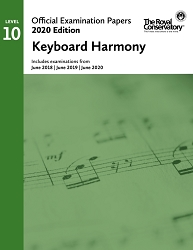 RCM EX2009 2020 Official Examination Papers: Level 10 Keyboard Harmony