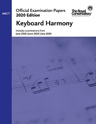 RCM EX2010 2020 Offical Examination Papers: Level ARCT Keyboard Harmony